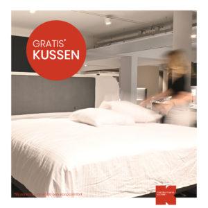 GratisKussen-bed